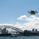 Australian world first, using drones to deliver text books