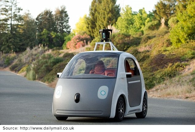 UK to launch driverless cars on public roads by January 2015